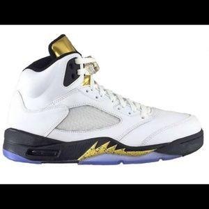 Other - Jordan retro 5s Olympic